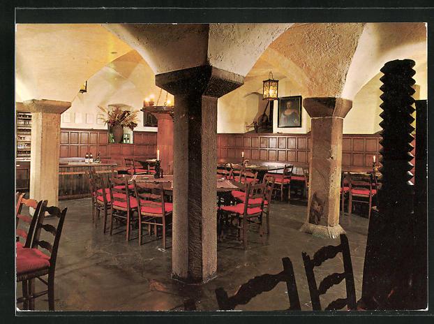 AK Lorch / Rheingau, Gasthaus Weingut Graf von Kanitz