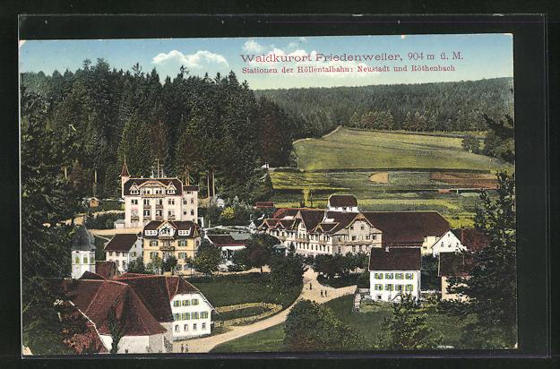 AK Friedenweiler, Teilansicht