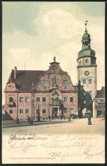 AK Ettlingen, Rathaus