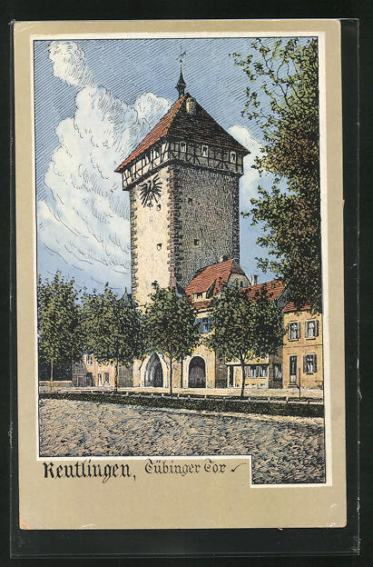 AK Reutlingen, Tübinger Tor