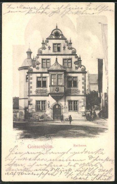 AK Gonsenheim, Blick auf das Rathaus
