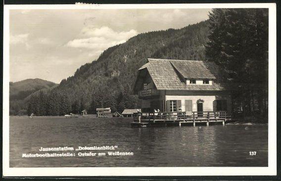 AK Stockenboi, Gasthof & Jausenstation Dolomitenblick am Weissensee