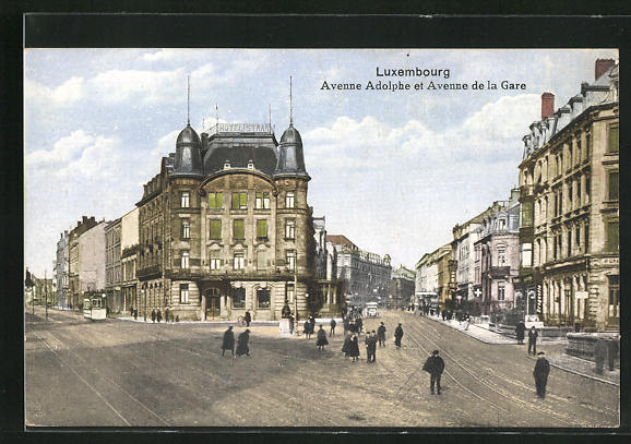 AK Luxembourg, Avenue Adolphe et Avenue de la Gare, Hotel Staar