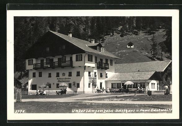 AK Unterlangenfeld, Gasthaus und Pension Edelweiss