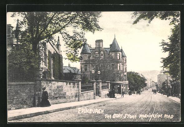AK Edinburgh, The Bore Stone Morningside Road