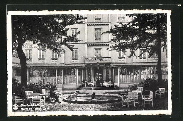 AK Mondorf-les.Bains, Hotel du Grand Chef, Gartenpartie