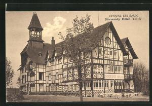 AK Genval Les Eaux, Normandy Hotel, Gebäudeansicht