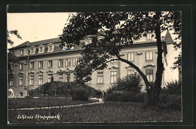 AK Stuppach, Partie am Schloss