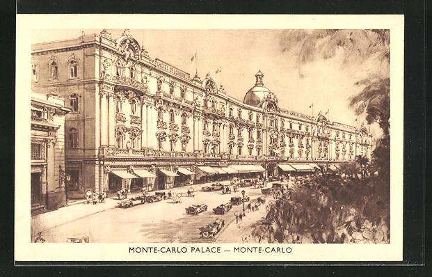 AK Monaco, Hotel Monte-Carlo Palace