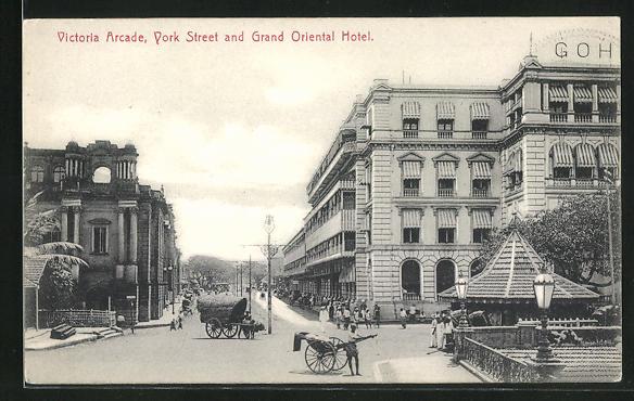 AK Colombo, Victoria Arcade, York Street and Grand Oriental Hotel