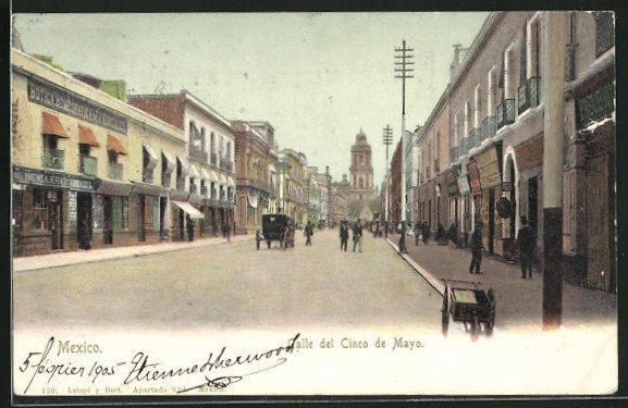 AK Mexico-City, Calle del Cinco de Mayo