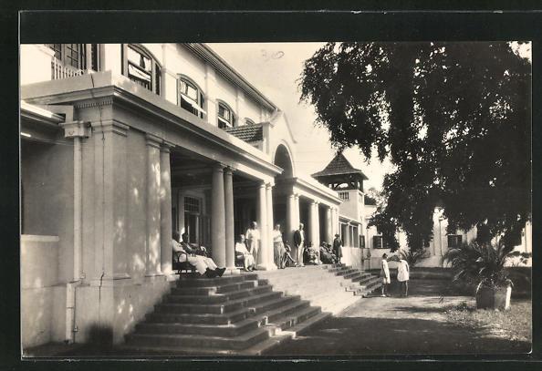 AK Simbabwe, Victoria Falls Hotel, The Front Porch
