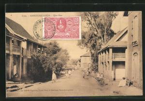 AK Ambohimahasoa, une rue, Strassenpartie