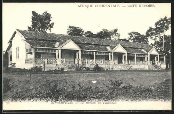 AK Bingerville, Le Bureau de Finances