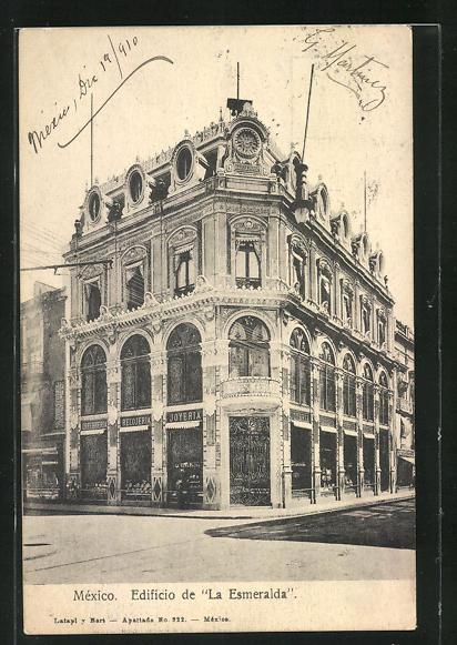 AK Mexiko-Stadt, Edificio de La Esmeralda