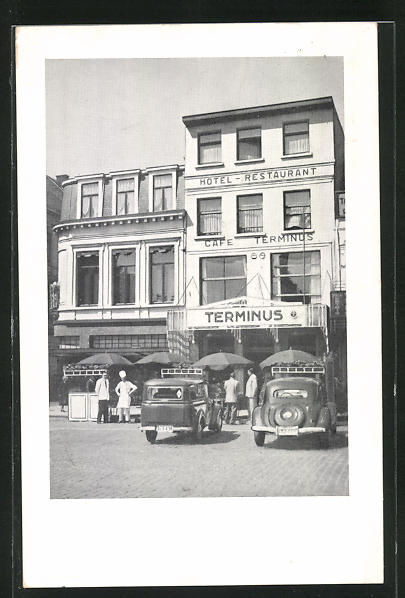 AK Turnhout, Hotel-Restaurant Terminus, Grote Markt 47
