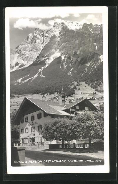 AK Lermoos, Hotel & Pension Drei Mohren