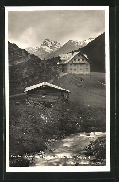 AK Lech a. A., Pension Omesberg