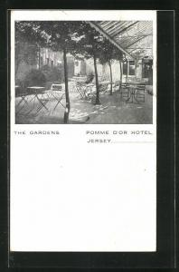 AK Jersey, Pomme d`Or Hotel, The Gardens
