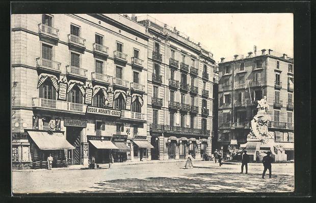 AK Barcelona, Rodon Morante y Casas, Plaza del Teatro 1