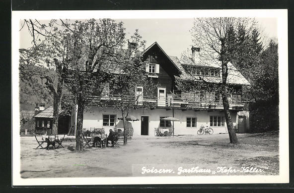AK Goisern, Gasthaus Kefer-Keller