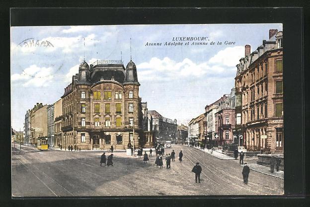 AK Luxembourg, Avenne Adolphe et Avenne de la Gare