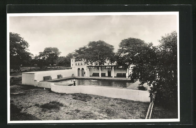 AK Simbabwe, Victoria Falls Hotel, The Swimming, Pool in the grounds