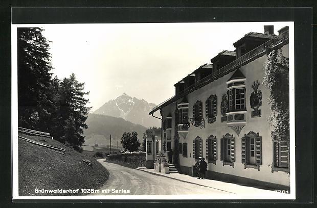 AK Patsch, Grünwalderhof