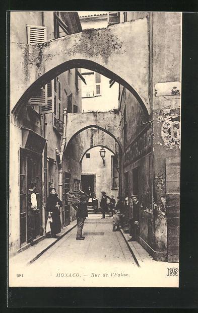 AK Monaco, Rue de l`Eglise