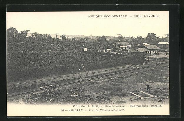 AK Abidjan, Vue du Plateau