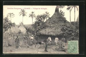 AK Guinée, Village de Koliagbé