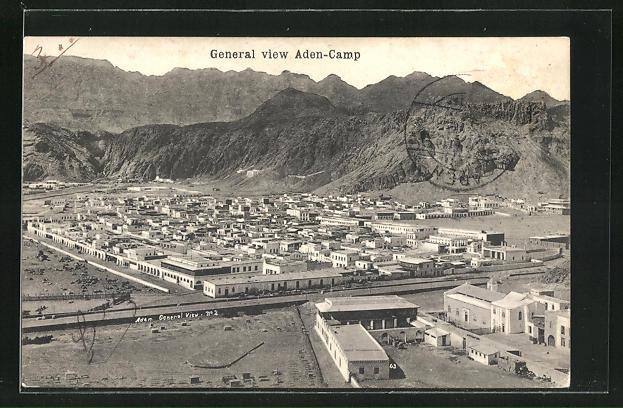 AK Aden, General view Camp
