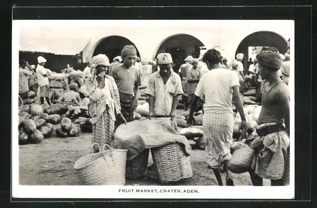 AK Aden, Fruit Market, Crater