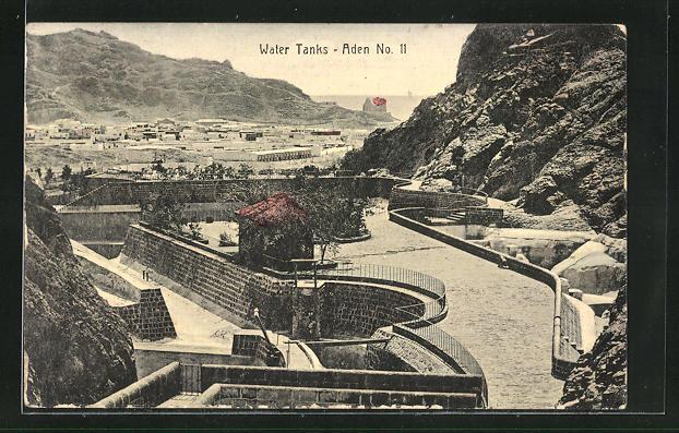 AK Aden, Water Tanks