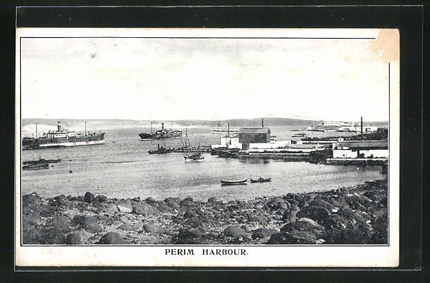 AK Perim, Harbour