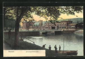 AK Malmö, Jernvägsstationen