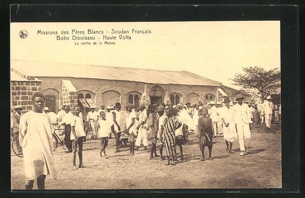 AK Bobo Dioulasso - Haute Volta, Missions des Péres Blancs