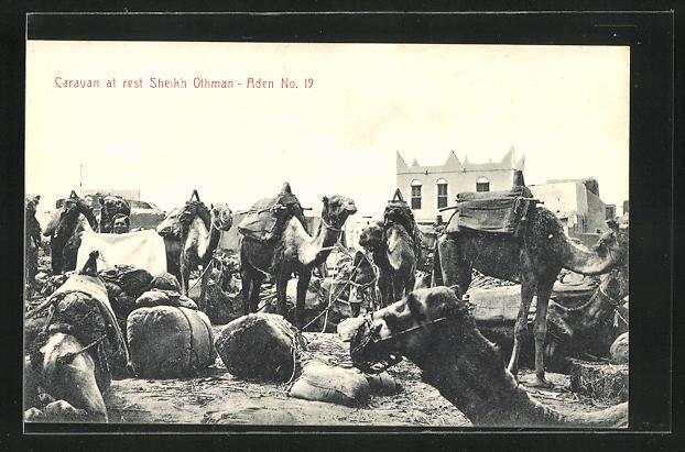 AK Aden, Caravan at rest Sheikh Othman