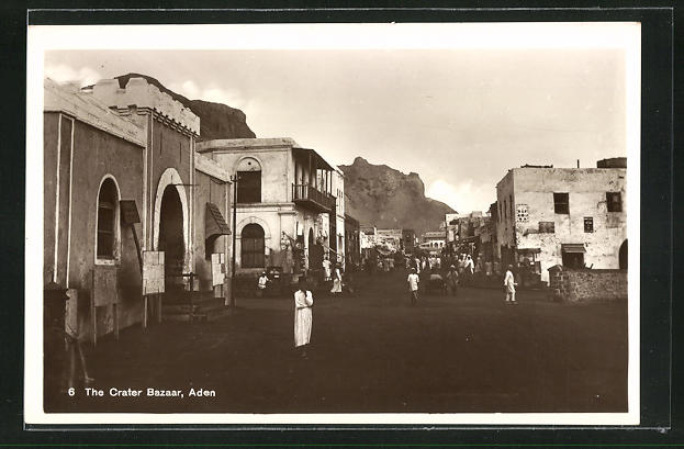 AK Aden, The Crater Bazar