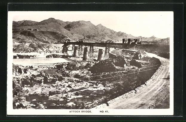 AK Aden, Attock Bridge