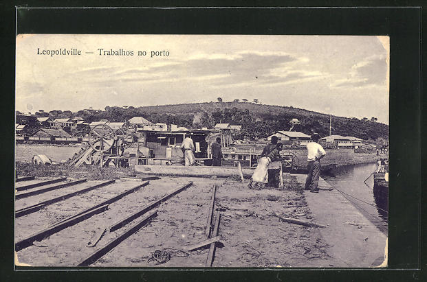 AK Leopoldville, Trabalhos no porto, Hafenarbeiter