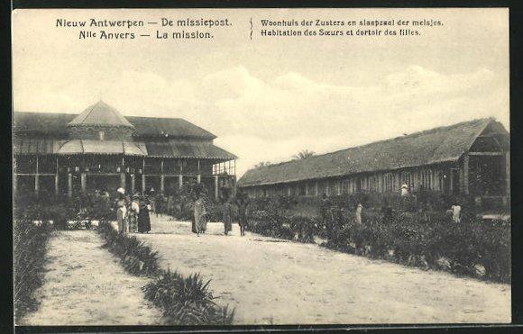 AK Nouvelle-Anvers, La mission, Habitation des Soeurs et dortoirs des filles