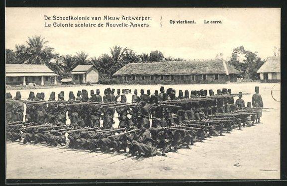 AK Nouvelle-Anvers, La Colonie scolaire, Le carré