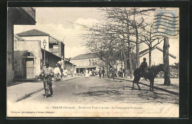 AK Dakar, Boulevard Pinet-Laprade, La Compagnie Francaise