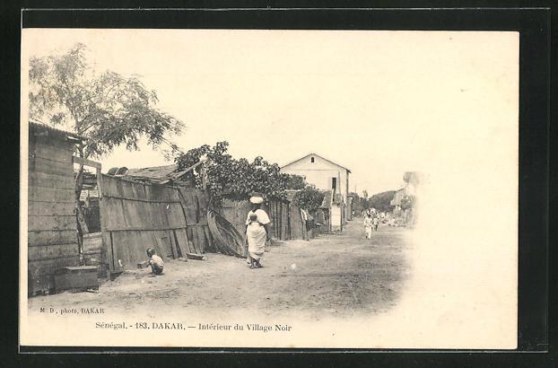 AK Dakar, Intérieur du Village Noir