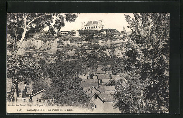 AK Tananarive, Le Palais de la Reine