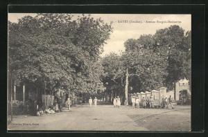 AK Kayes, Avenue Borgnis-Desbordes, Strassenpartie