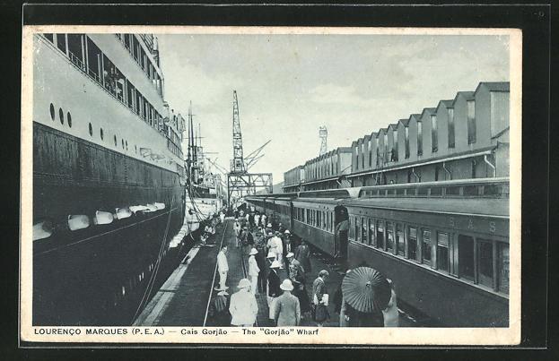 AK Lourenco Marques, Cais Gorjao - The Gorjao Wharf