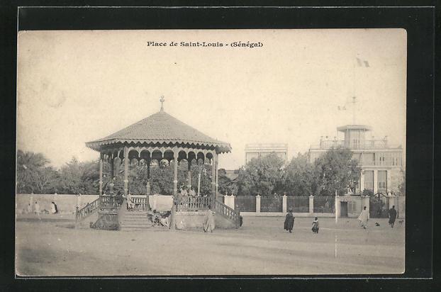 AK Saint-Louis, Place de Saint Louis, Pavillon