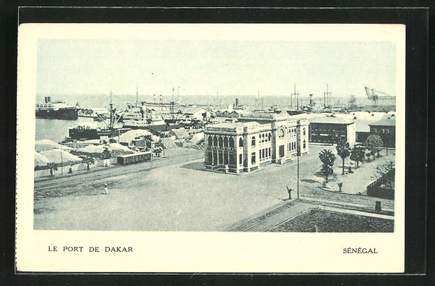 AK Dakar, Le Port, am Hafen
